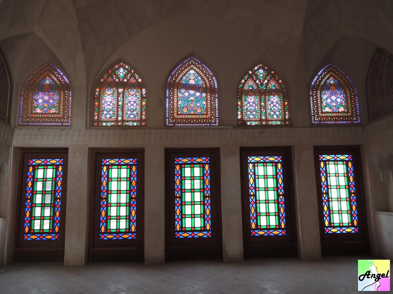 abbasian house inside kashan iran