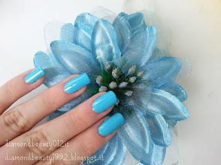 nail art oceano floreale