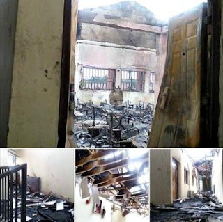 FUTO ICT Center Fire Outbreak Reports