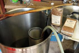 Getting ready to add the muscavado sugar.