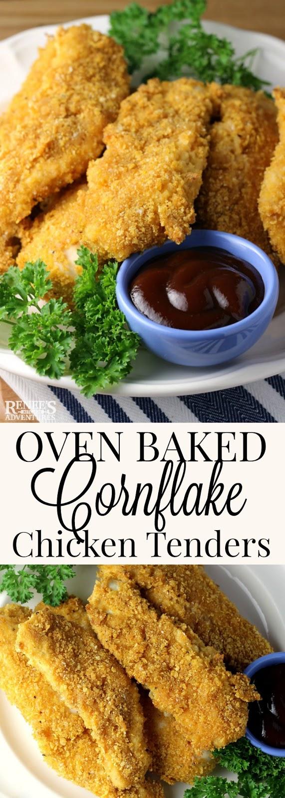 Cornflake Chicken Tenders | Renee's Kitchen Adventures