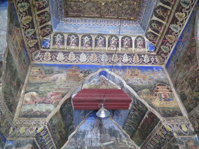 Frescos de la Pagoda Mahamuni