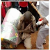"""See photo:A Man """"arrested"""" by snake after stealing a mattress"""