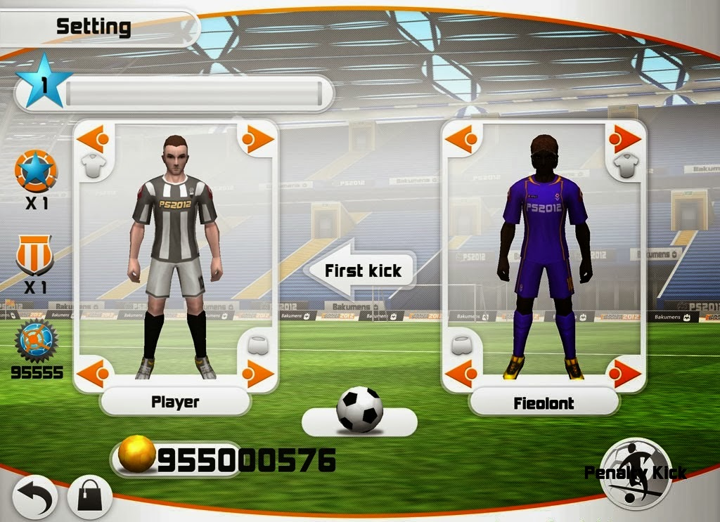 Download Free Penalty Soccer Game (All Versions) Hack v1.2.1 Unlimited Coins,Power,Chest 100% Working and Tested for IOS and Android MOD.