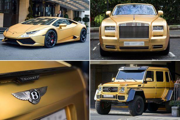 Inggris Dihebohkan Dengan Sukarno Dapat Warisan 4 Supercar Berlapis Emas