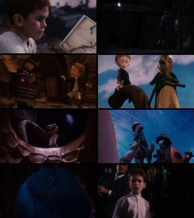 James And The Giant Peach 1996 Dual Audio Hindi 480p BluRay