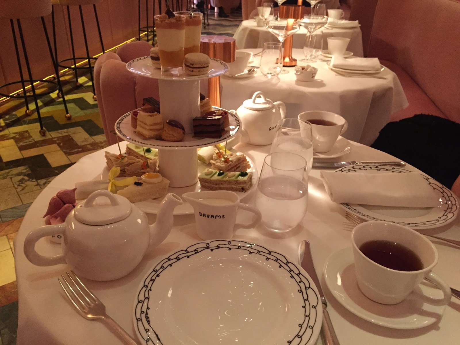 sketch london afternoon tea review toilets blog blogger kirstie pickering