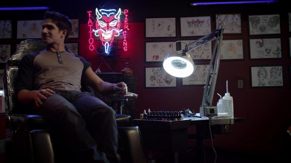 Scott Tattoo Teen Wolf