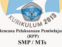RPP IPA Kurikulum 2013 Kelas 7 dan 9 Lengkap