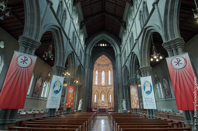 Interior Catedral protestante Kilkenny