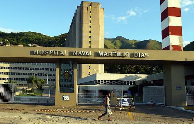 Hospital Naval Marcílio Dias/RJ: 128 vagas em breve