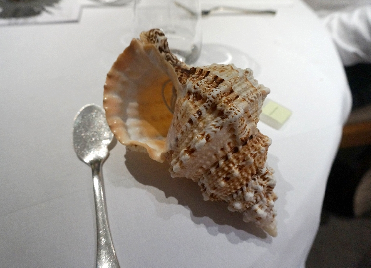 Euriental | dinner at the Fat Duck, Bray, by Heston Blumenthal. Sound of the Sea.