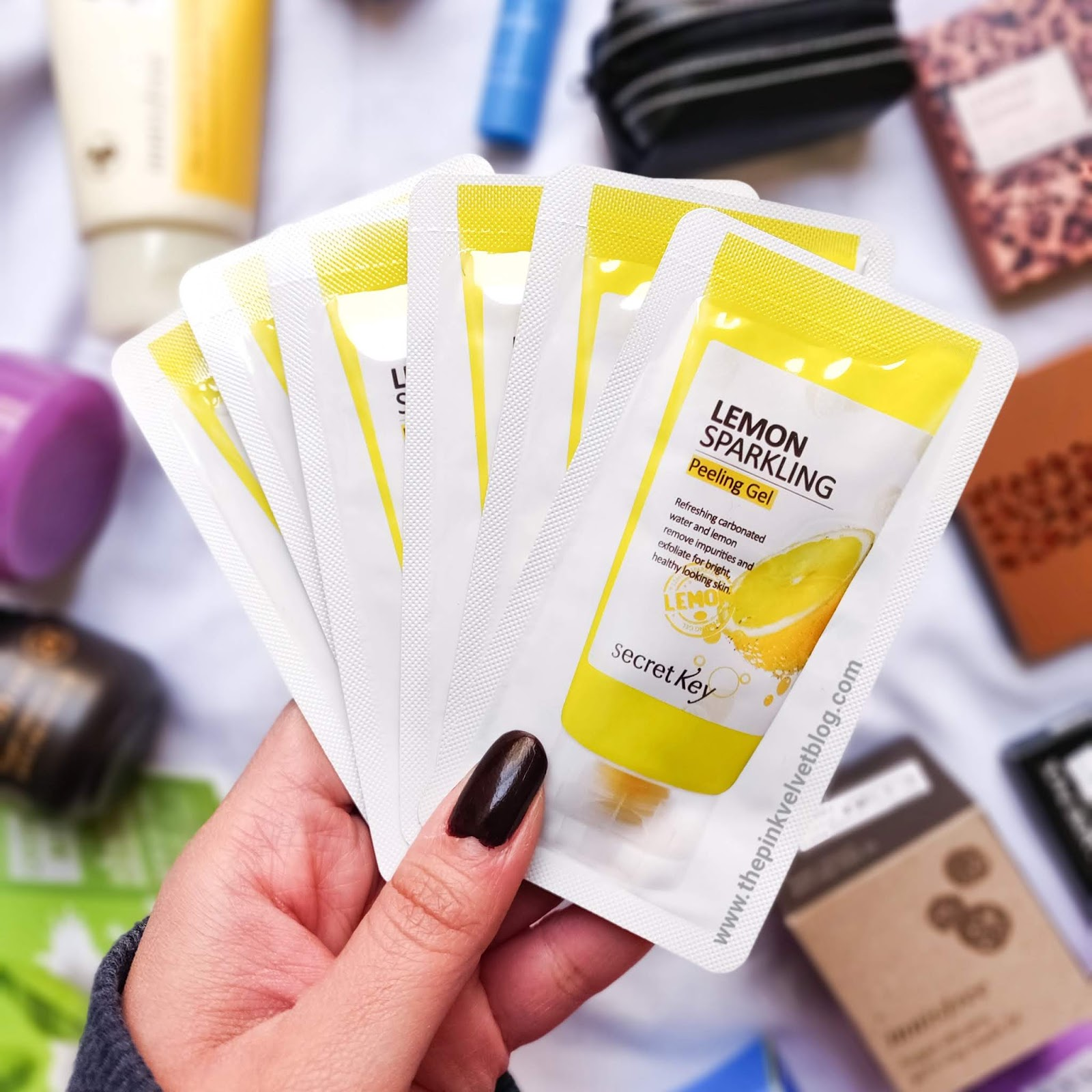 YesStyle Shopping Haul and Experience | YesStyle Shopping Haul and Experience | Korean Beauty Cosmetics from YesStyle - Secret Key - Lemon Sparkling Peeling Gel