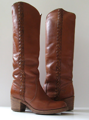 Frye Tall Brown Boots Cowboy Boots Womens Size 6