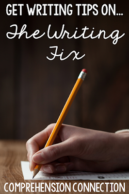 Have you explored The Writing Fix website? It has a plethora of ideas and lessons ready to go. In this post, I share a model lesson I used from it to give you an idea.