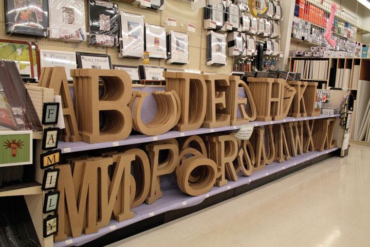 Crafts Direct Blog Paper Mache Letters