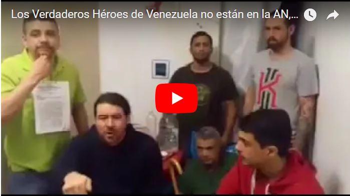 Los Verdaderos Héroes de Venezuela no están en la AN, están en El Helicoide