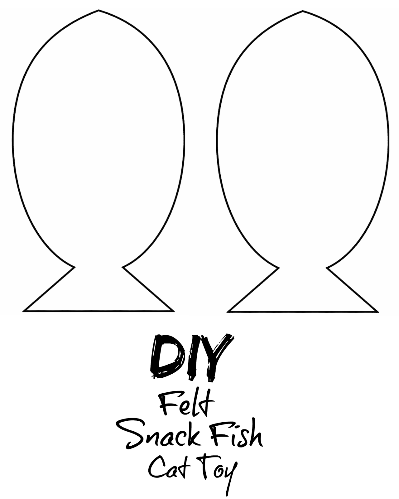 diy cat toy template
