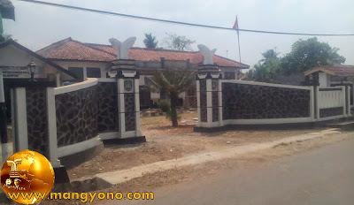 Kantor Desa Citrajaya, Kecamatan Binong. Poto Jepretan kang Ian Susanto - Facebooker Subang ( FBS )