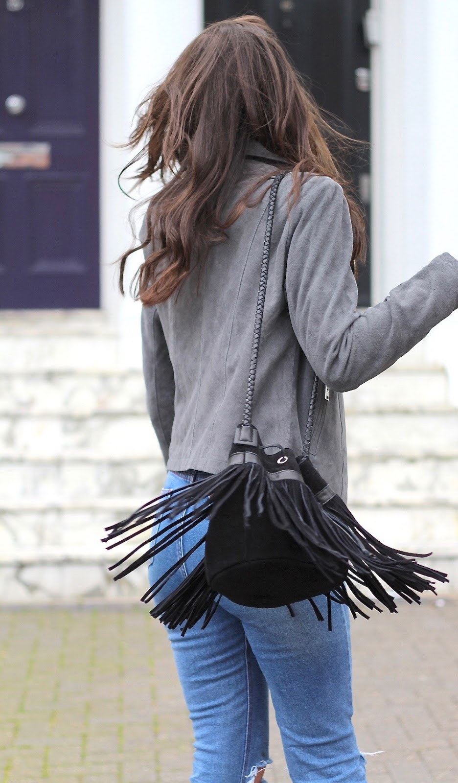 bucket bag fringe house of fraser