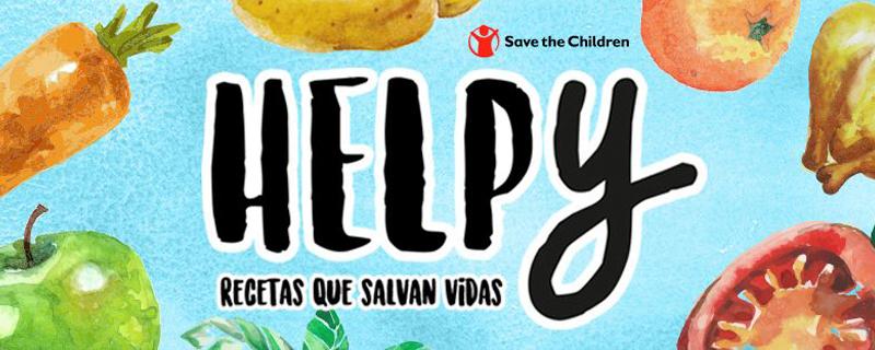 #Helpy, recetas que salvan que salvan vidas