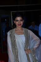 Samantha Ruth Prabhu cute in Lace Border Anarkali Dress with Koti at 64th Jio Filmfare Awards South ~  Exclusive 049.JPG