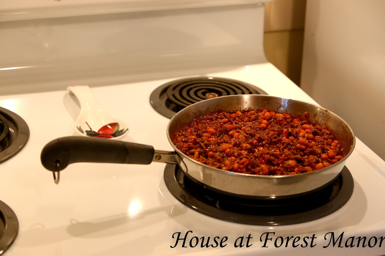 House At Forest Manor A Snow Day And Hungry Jack Casserole
