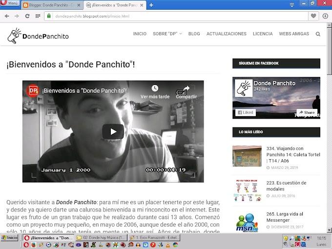 "335. Noticias Panchito 16: cambios en la imagen de ""Donde Panchito"" | T14 / A07"