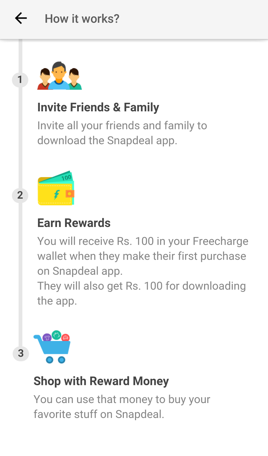 01f44acd2 AGAIN( DHAMAKA ) SNAPDEAL UNLIMITED REFER TRICK HACKED WORKING AGAIN  UPDATED-OCT