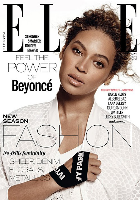 Actress, Singer, @ Beyoncé Knowles UK Elle May 2016