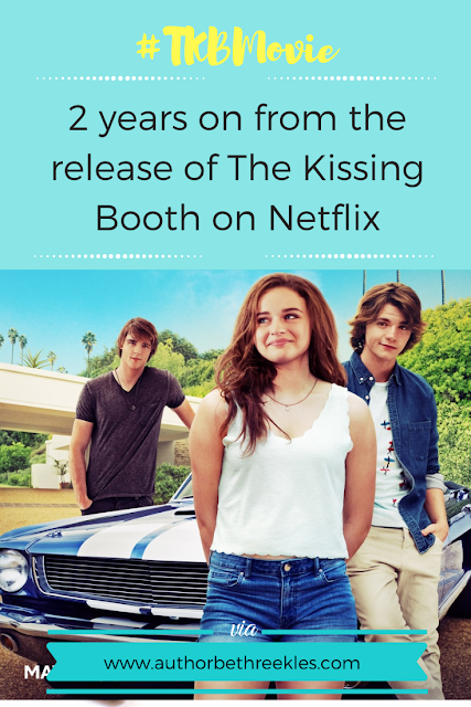 In this post I talk about how much things have changed two years on from the release of The Kissing Booth on Netflix - from new books to rediscovering my spark!