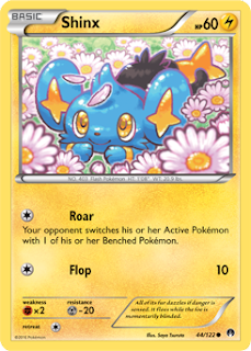 Shinx BREAKpoint Pokemon Card