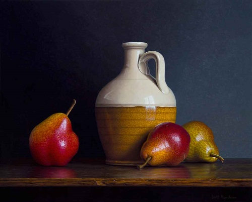 "Brett Humphries - ""Jug and Pears"" 