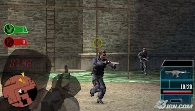 Download Syphon Filter - Logan's Shadow Game PSP for Android - www.pollogames.com