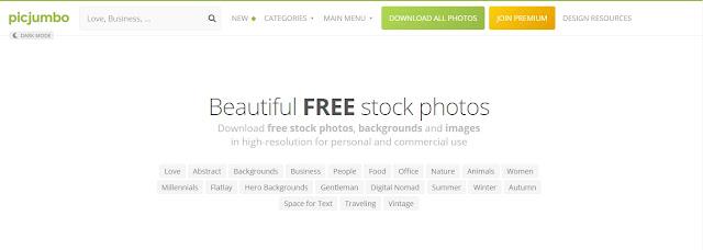 Bancos de Imagens Gratuitos Para Você Usar - Picjumbo