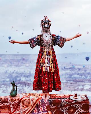 Kristina Makeeva Kapadokya Resimleri