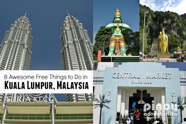 Free Things to Do in Kuala Lumpur Malaysia