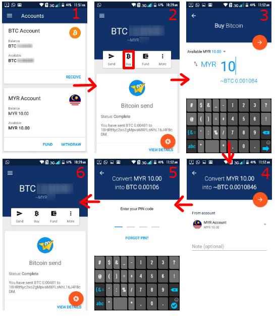 cara membeli bitcoin dari luno
