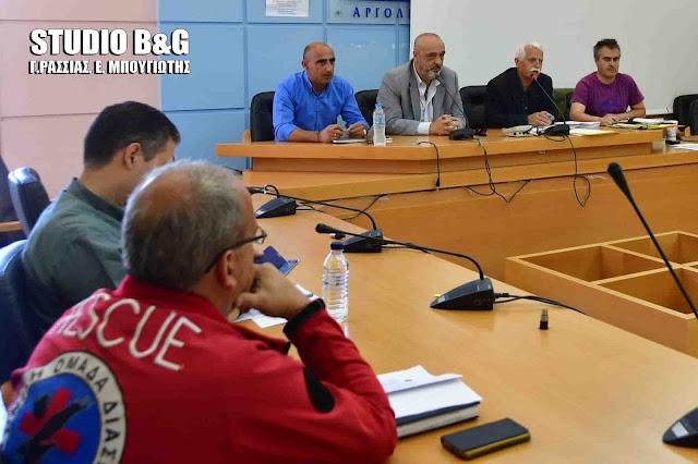 Συνεδρίασε εν όψει της Χειμερινής περιόδου το Συντονιστικό Όργανο Πολιτικής Προστασίας του Δήμου Ναυπλιέων