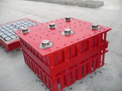 concrete block spare molds
