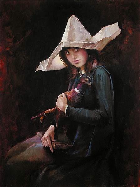 Infância - Irene Sheri e suas românticas pinturas