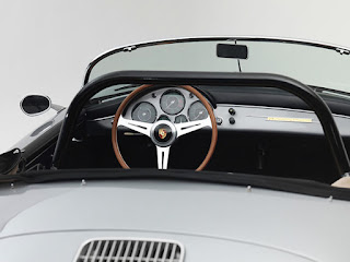 1958 Porsche 356 Speedster Convertible Interior 01
