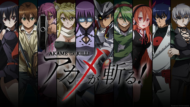 Akame ga Kill!! Wallpaper hd
