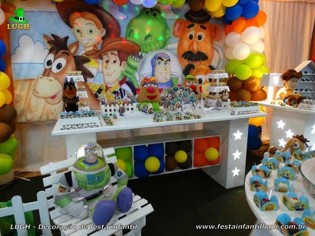 Decoração tema infantil Toy Story - Festa de aniversário