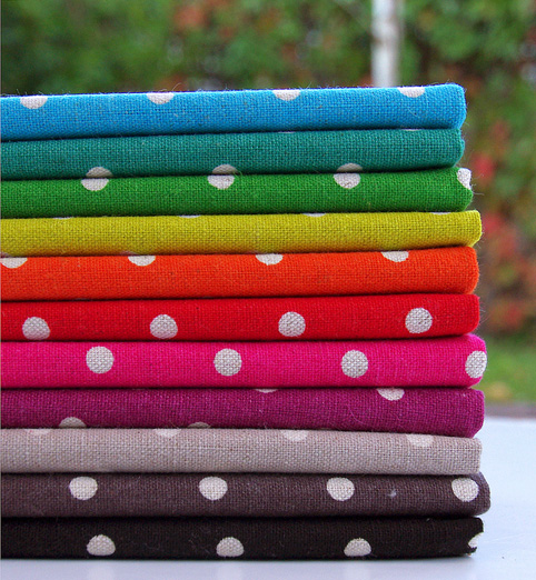 Mochi Linen Dots by MoMo for Moda Fabrics