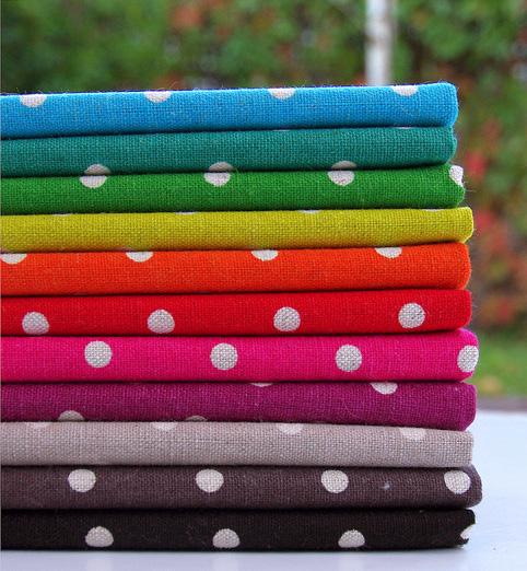 Mochi Linen Dots by MoMo for Moda Fabrics