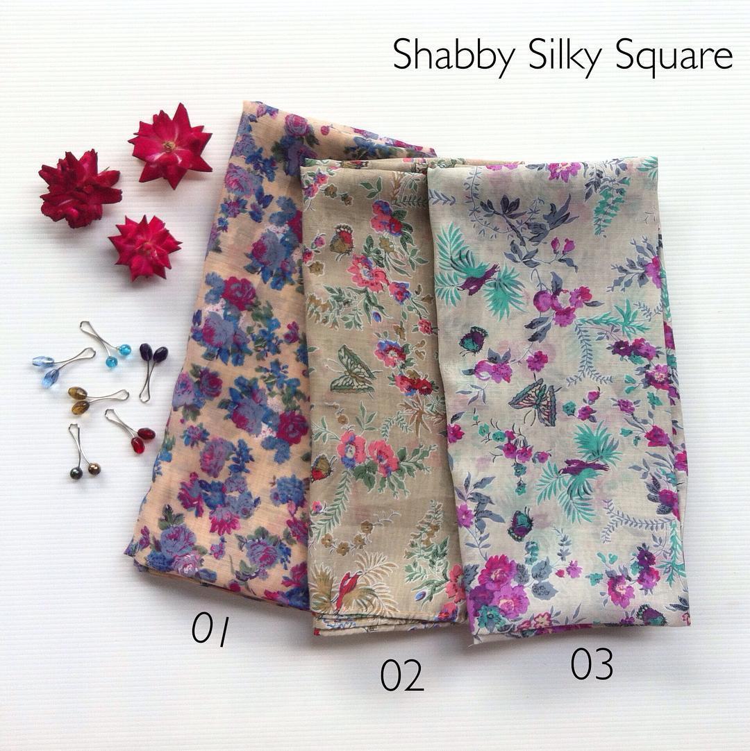 Shabby Silky Square