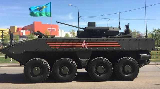 Броневая машина пехоты К-17 «Бумеранг», вид сбоку