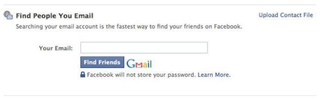 Search Facebook Friends