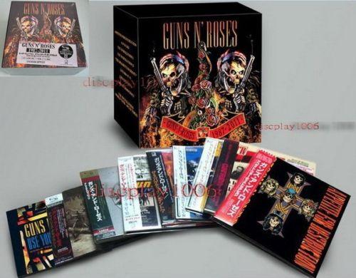 Pintadas En La Pizarra Guns N Roses Coleccion Box Set 9